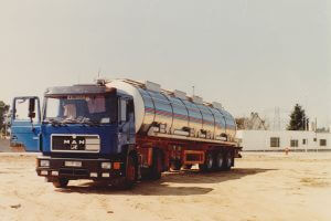 Chemie-Tankwagen